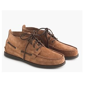 Sperry A/O Chukka Suede Boots 9 New